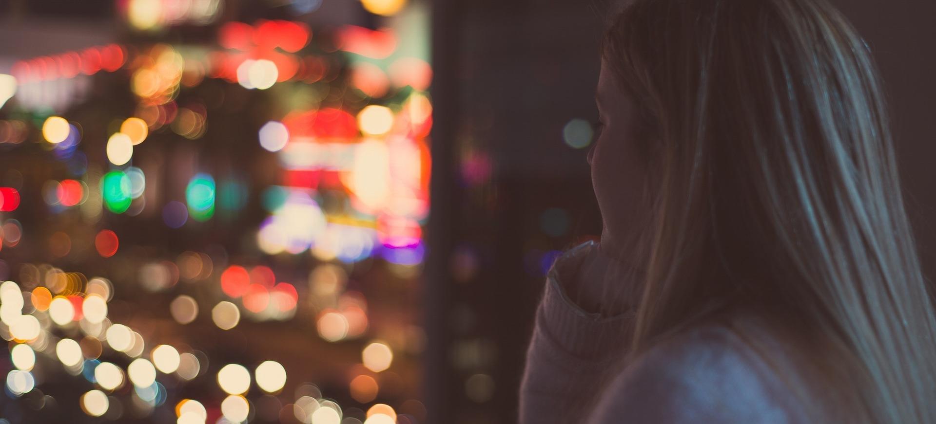 girl contemplation